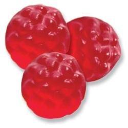 Albanese Confectionery Gummies, Ripe Red Raspberry Gummies, 5-Lb Bag