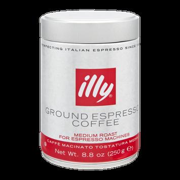Illy Medium Roast Ground Espresso Coffee