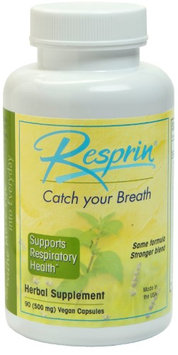 NU Century Herbs - Resprin Natural Breathing Enhancement - 90 Vegetarian Capsules