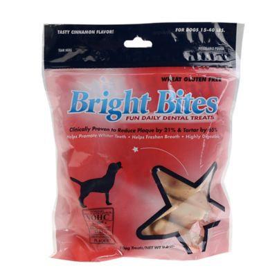 Bright Bites® Medium Daily Dental Dog Treats in Cinnamon