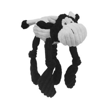Multipet Corduroy Critters 8-inch Cow Dog Toy