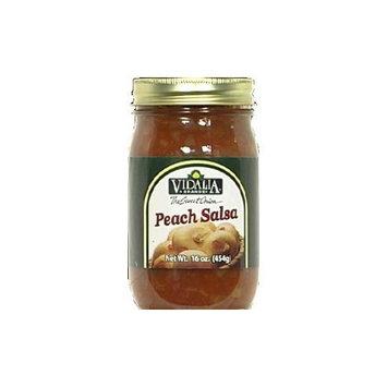 Vidalia Brand Sweet Onion Peach Salsa 16.0 OZ (Pack 3)