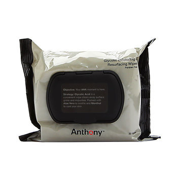 Anthony Glycolic Exfoliating and Resurfacing Wipes 30 ct