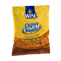 Wise Dipsy Doodles Wavy Corn Chips Bar-B-Q