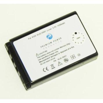 Premium Power Products Premium Power KLIC-5001 Compatible Battery 1450 Mah Klic-5001 for use with Kodak Digital Cameras