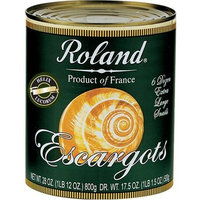 Roland Extra Large Escargot Helix Snails, 28-Ounce Cans (Pack of 2)