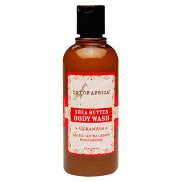 Out Of Africa Shea Butter Body Wash, Geranium, 9 fl oz