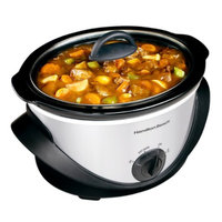 Hamilton Beach 33141 4 Quart Oval Slow Cooker