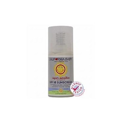 California Baby No Fragrance Moisturizing Sunscreen Lotion - SPF 18+ - 4.5 oz