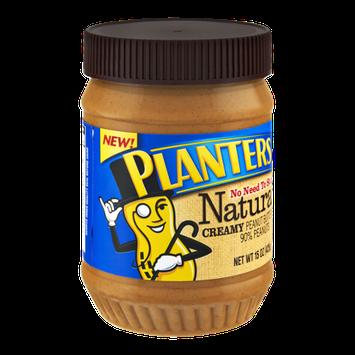 Planters Natural Creamy Peanut Butter Spread