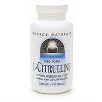 Source Naturals L-Citrulline - 1000 mg - 120 Tablets