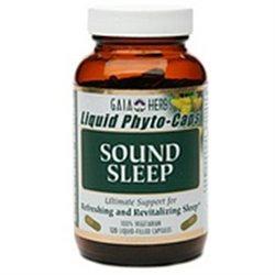 Gaia Herbs - Sound Sleep Liquid Phyto-Caps - 120 Vegetarian Capsules