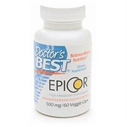 Doctor's Best EpiCor, 500mg, Veggie Caps, 60 ea