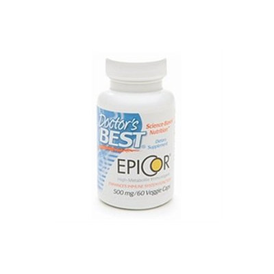 Doctor's Best EpiCor, 500mg, Veggie Caps, 60 ea