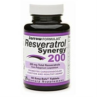 Jarrow Formulas Resveratrol Synergy 200, 60 tablets