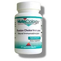 Allergy Research nutricology NutriCology Russian Choice Immune, 60 vegetarian capsules