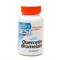 Doctor's Best Quercetin Bromelain, Capsules, 180 ea