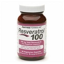 Jarrow Formulas - Resveratrol 100 mg. - 60 Vegetarian Capsules