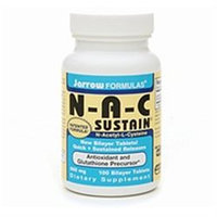 Jarrow Formulas NAC Sustain 600 mg Tabs