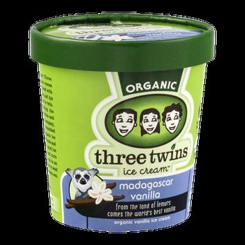 Three Twins Ice Cream Organic Madagascar Vanilla