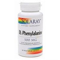 Solaray DL-Phenylalanine - 500 mg - 60 Vegetarian Capsules