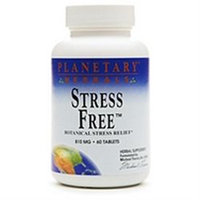 Planetary Herbals Stress Free 810mg 60 tablets