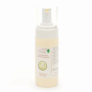 100% Pure Facial Cleansing Foam Cucumber Juice
