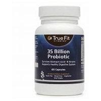 True Fit Vitamins 35 Billion Probiotic, 60 capsules