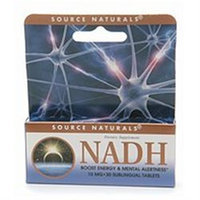 Source Naturals NADH 10mg, Sublingual Tablets, 30 ea