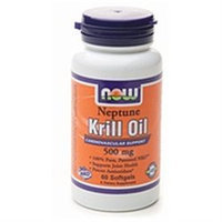 NOW Foods - Neptune Krill Oil 500 mg. - 60 Softgels