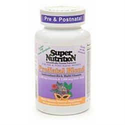 Super Nutrition - Prenatal Blend Antioxidant-Rich Multi-Vitamin/Mineral - 90 Vegetarian Tablets