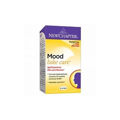 New Chapter Mood Take Care - 30 Softgels