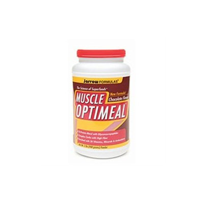 Jarrow Formulas Muscle OptiMeal Powder, Chocolate, 2 lb