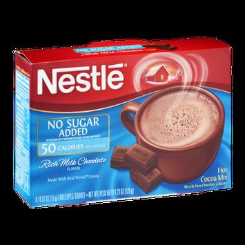 Nestlé Hot Cocoa Mix Rich Milk Chocolate No Sugar Added - 8 CT