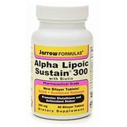Jarrow Formulas Alpha Lipoic Sustain 300 with Biotin