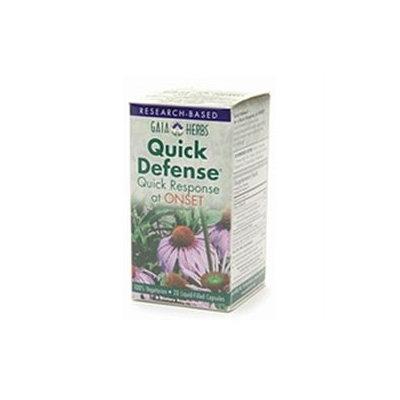 Gaia Herbs Quick Defense, Liquid-Filled Capsules