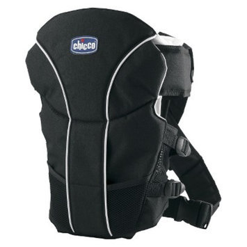Chicco UltraSoft 2-Way Baby Carrier - Black