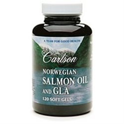 Carlson Labs - Norwegian Salmon Oil and GLA - 120 Softgels