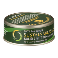 Sustainable Seas Solid Light Tuna in Water