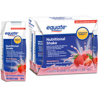 Equate Strawberry Nutritional Shake