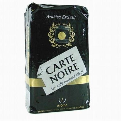 Coffee Carte Noire Authentic Imported French Gourmet Coffee 250 g (8.8 oz), Twelve