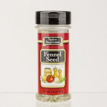 Club Pack of 12 Spice Supreme Fennel Seed 2.75 oz. # 30510