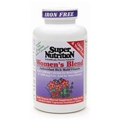 Super Nutrition - Women's Blend Iron Free - 180 Vegetarian Tablets