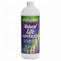 Peter Gillham's Natural Vitality Natural Life Minerals Formula, Natural Lemon-Lime 32 fl oz (.95 L)