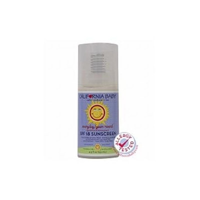 California Baby - Moisturizing Sunscreen Everyday/Year-Round 18 SPF - 4.5 oz.