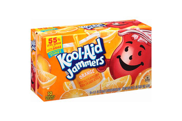 Kool-Aid Jammers Orange Juice Pouches