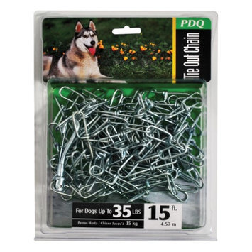 Warren Pet Products 27215 Tie Out Chain, 2.5mm x 15'