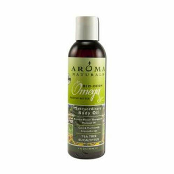 Aroma Naturals Body Oil Tea Tree Eucalyptus 6 fl oz