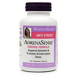 Natural Factors AdrenaSense, Vegetarian Capsules, 120 ea
