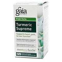 Gaia Herbs Turmeric Supreme, Vegetarian Liquid Phyto-Capsules